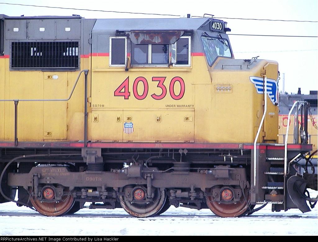 UP 4030 Under Warranty